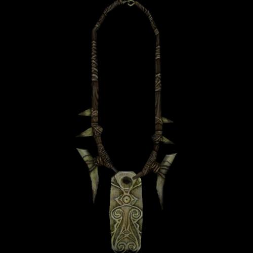 Amulette de Gauldur - modèle