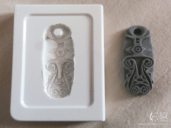 Silicone mold and Plastiline master