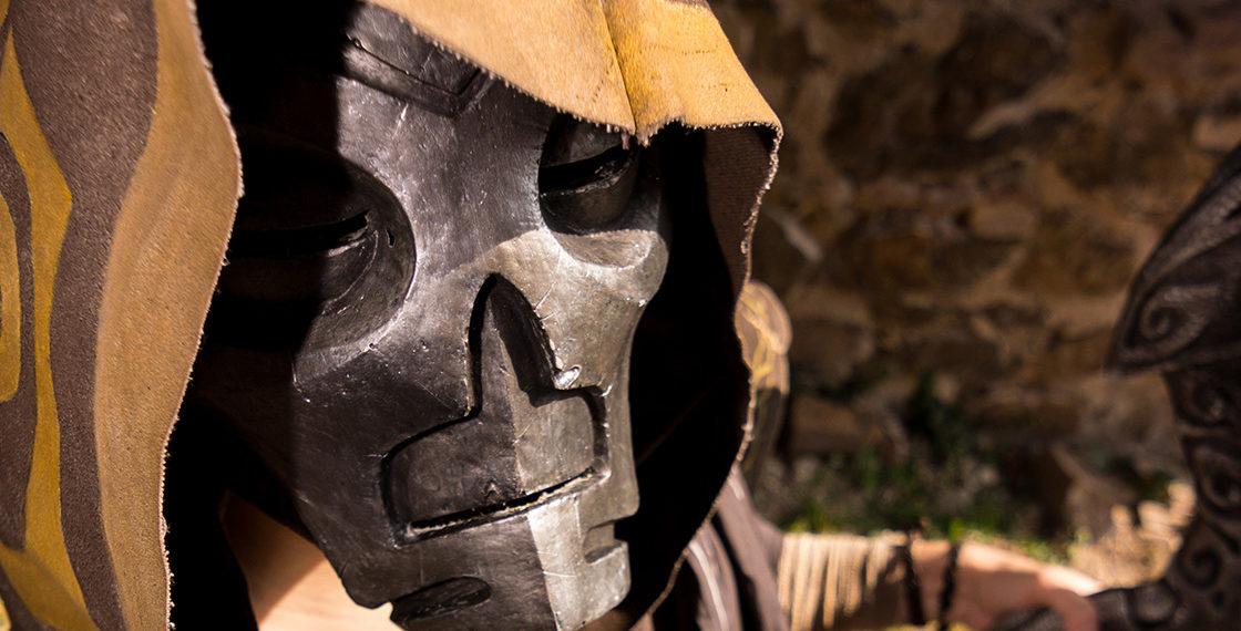 Vokun : réalisation d'un masque en résine