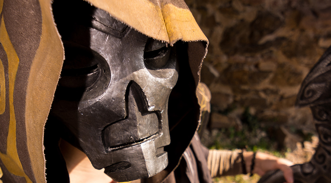Vokun: making of a resin mask
