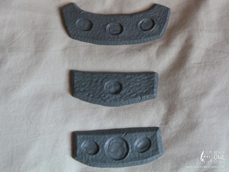 Colliers en plastiline