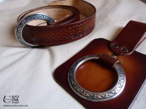 Belt and axe holder