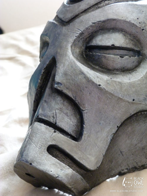 Vokun dragon priest mask