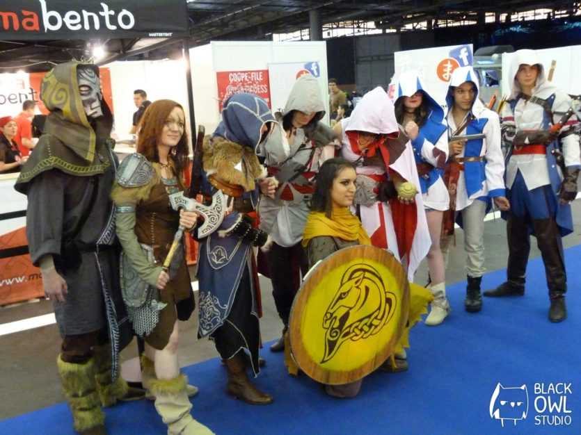 Avec un groupe Assassin's Creed