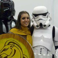 Notre garde de Blancherive avec Dark Vador et un Stormtrooper