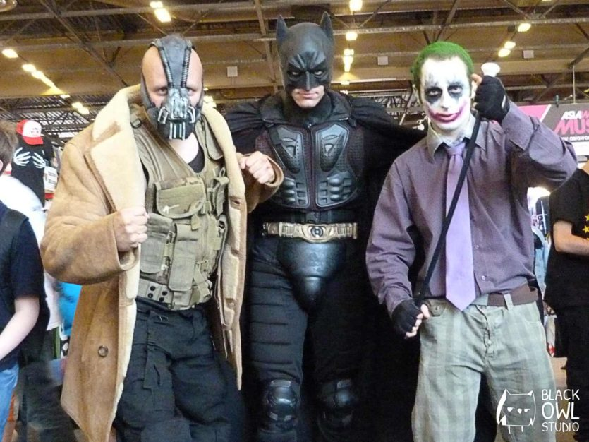 Bane, Batman et le Joker