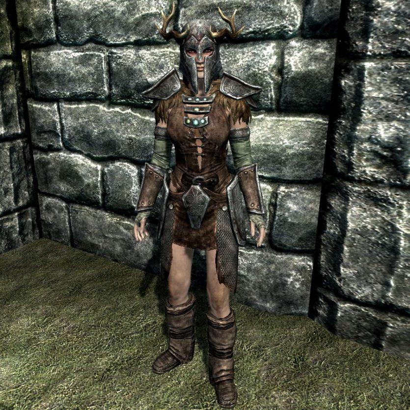 Armure nordique antique - modèle