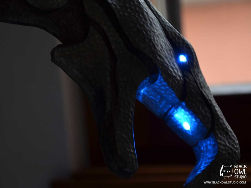Bâton de Prêtre-Dragon - LED