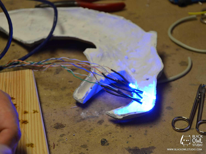 Montage des LED