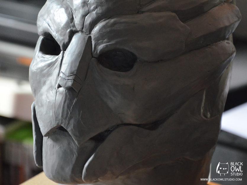 Garrus Vakarian - Plastiline sculpt