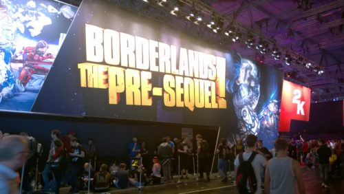 Le fameux stand Borderlands !