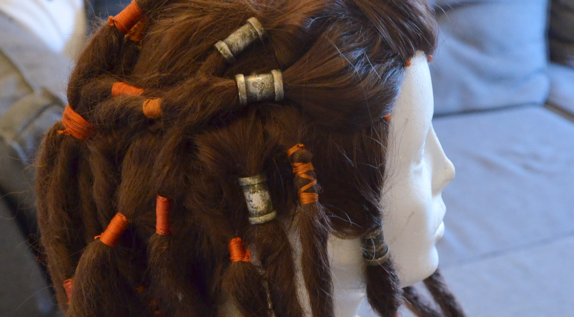 Tutorial: How to make dreadlocks on a wig
