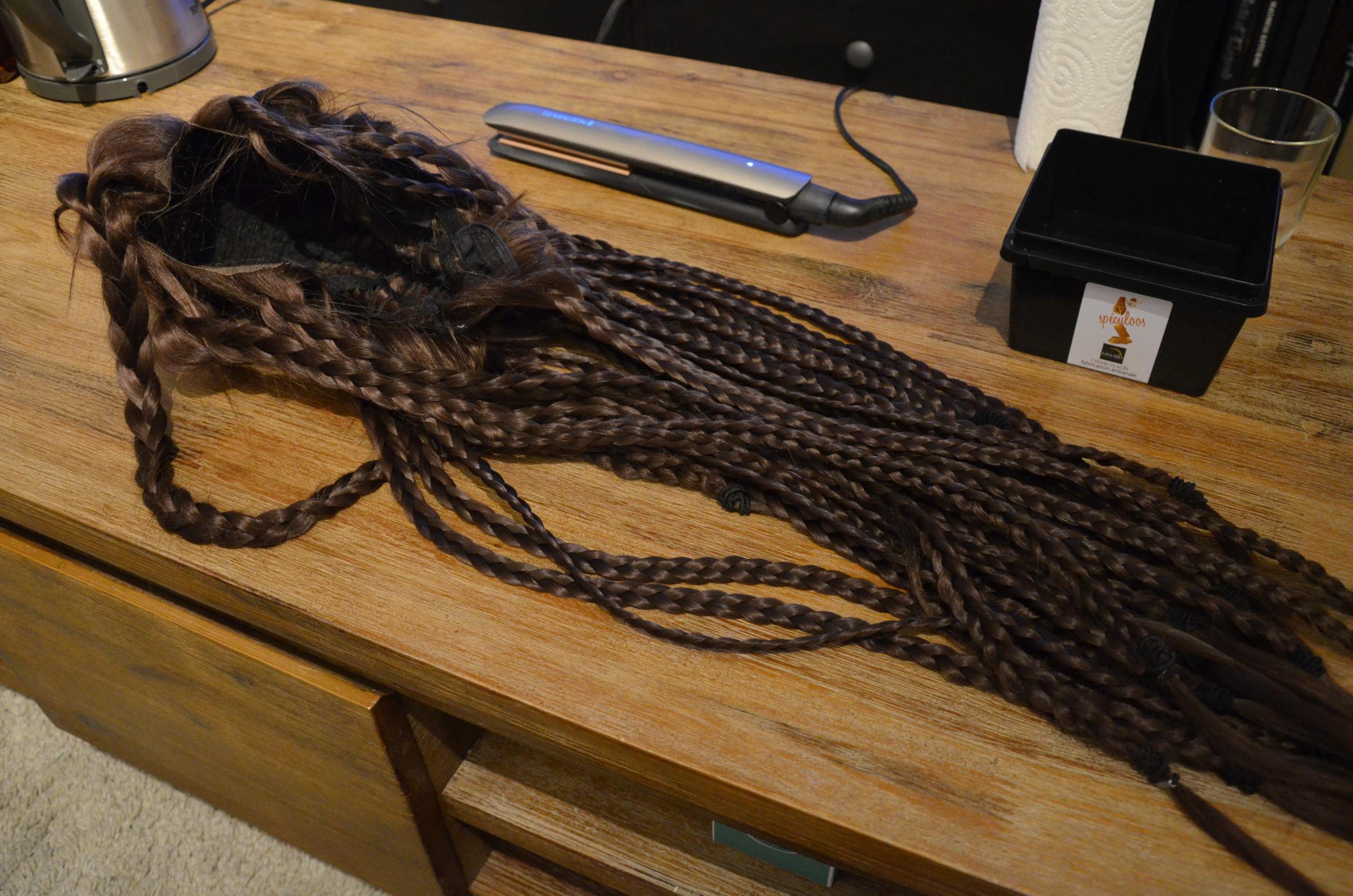 Wig braids
