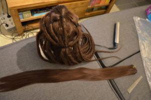 Wig weft