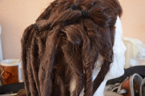 Perruque et extensions dreadlocks