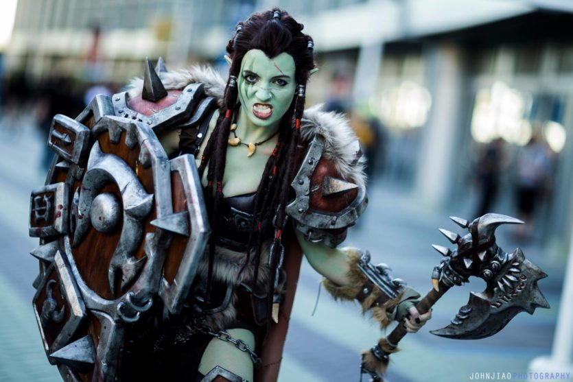 Cosplay Warsong Commander