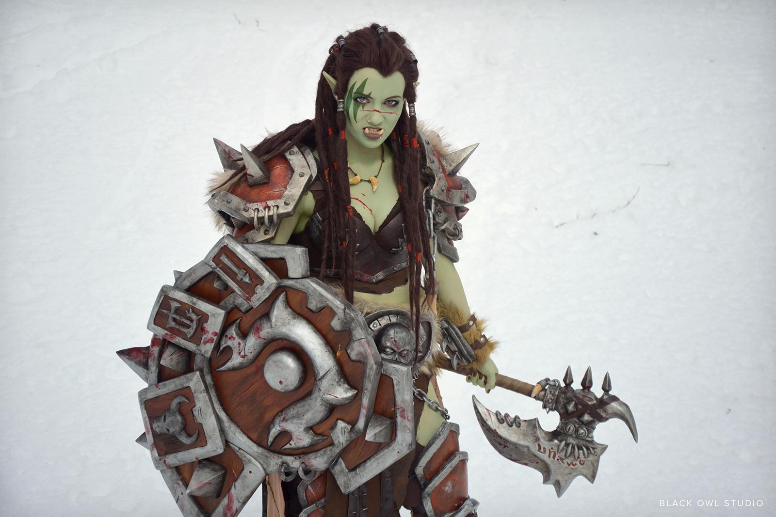 Warsong Commander cosplay