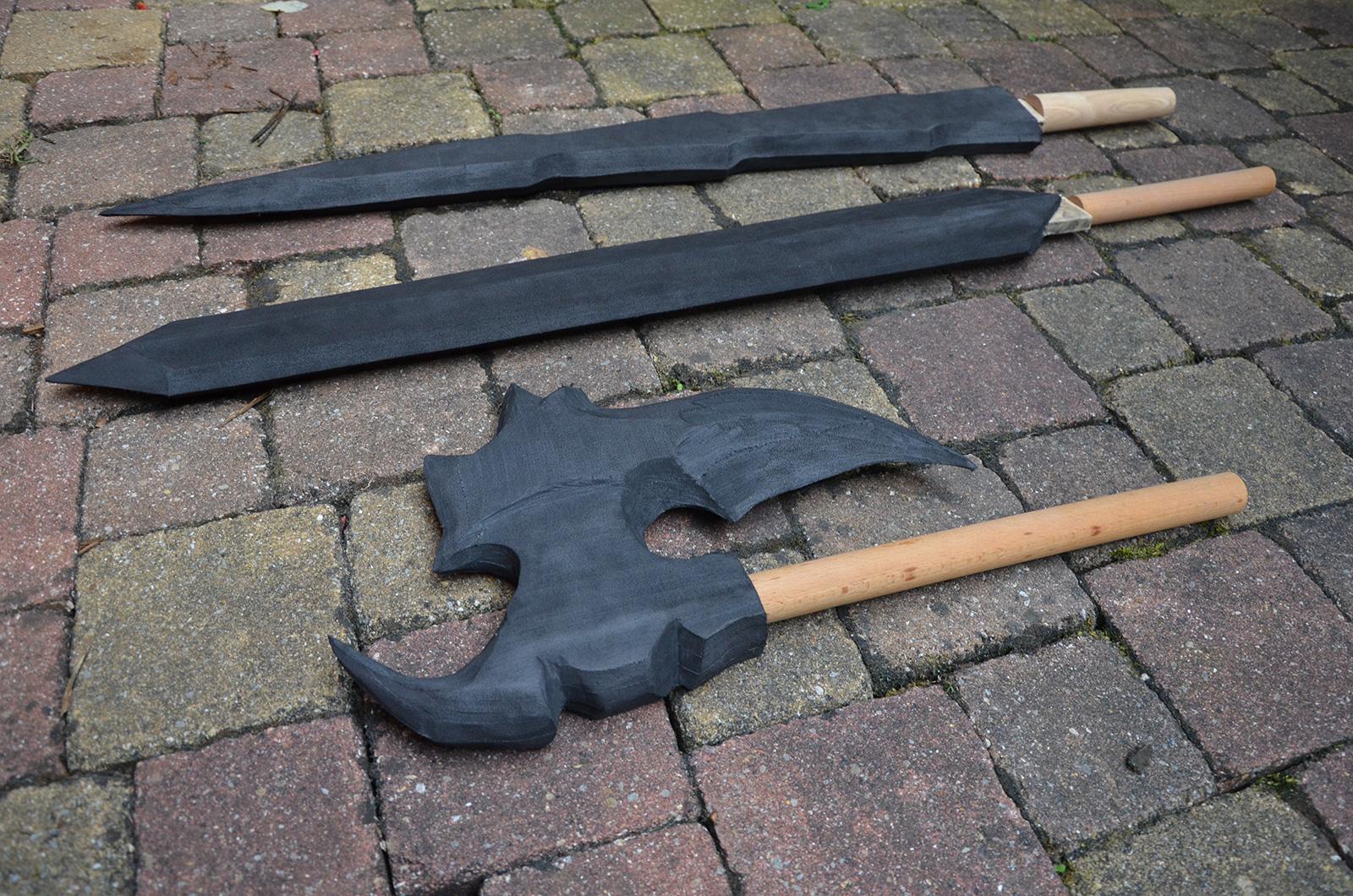 weapon cosplay foam