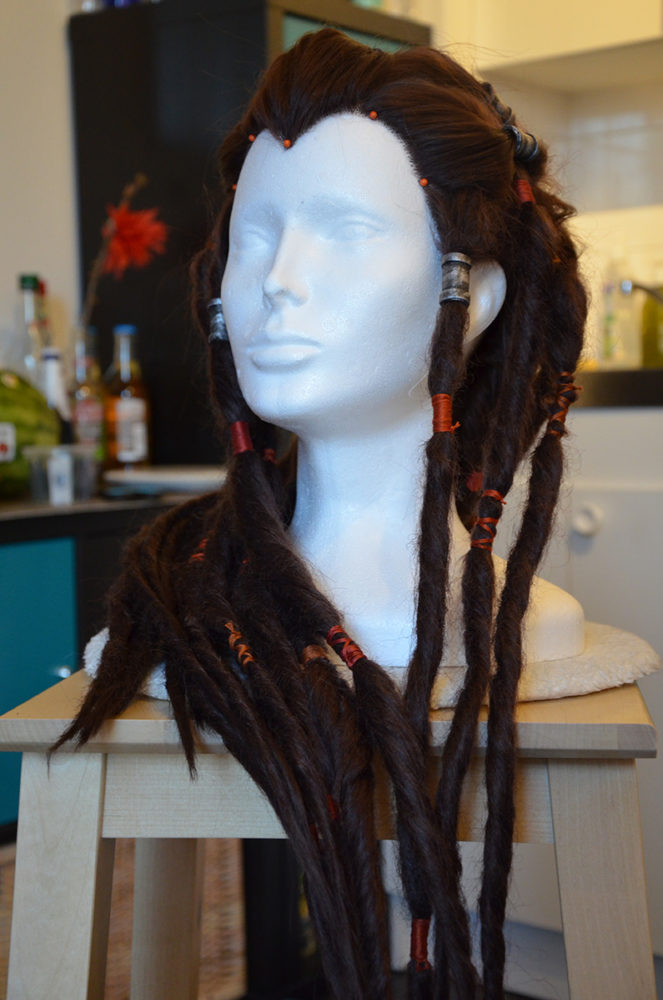dreads perruque