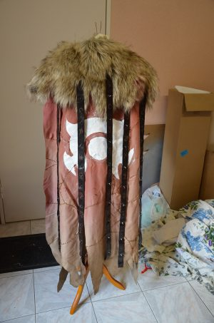 Cape armure cosplay