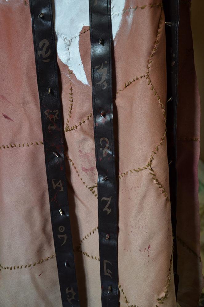Symboles à la peinture textile