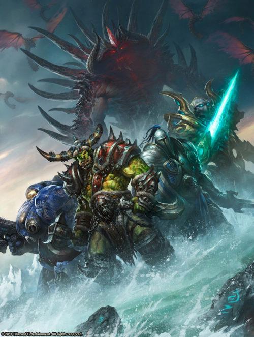 Tout l'Art de Blizzard - Wei Wang