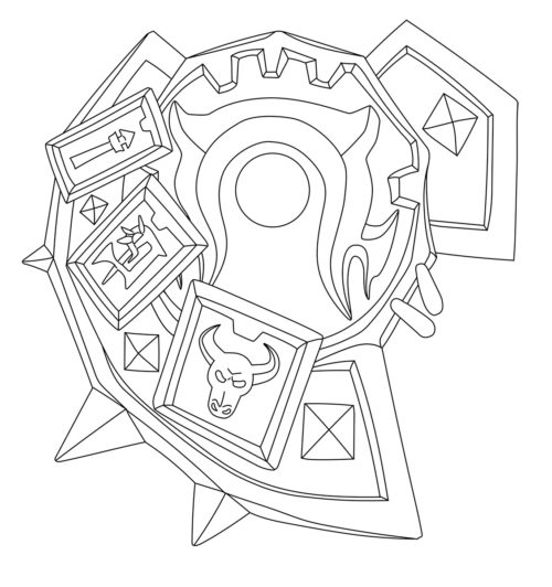 Warsong Commander Shield