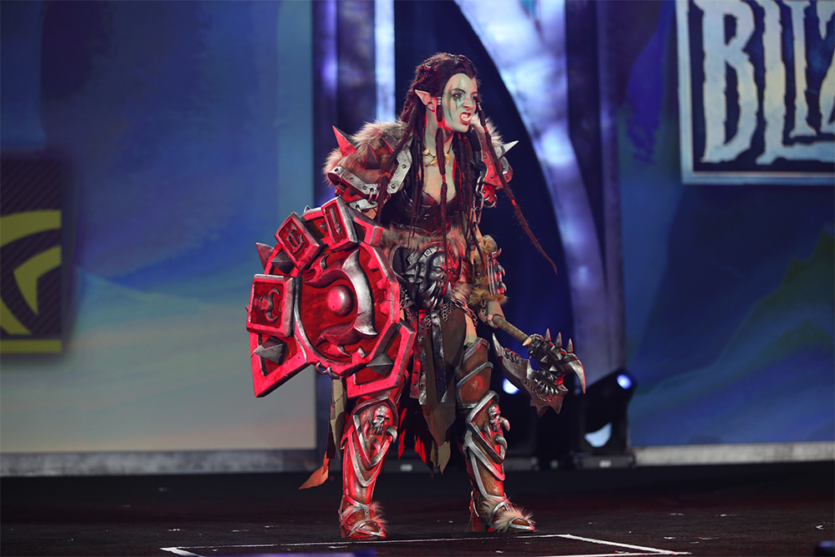Warsong Commander Blizzcon costume contest