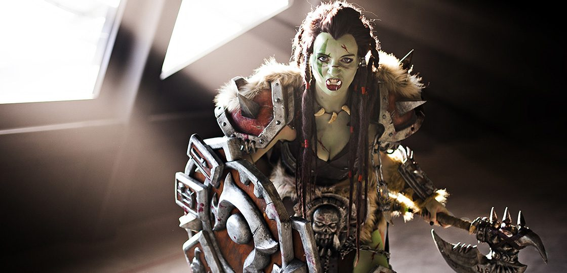 Warsong Commander cosplay