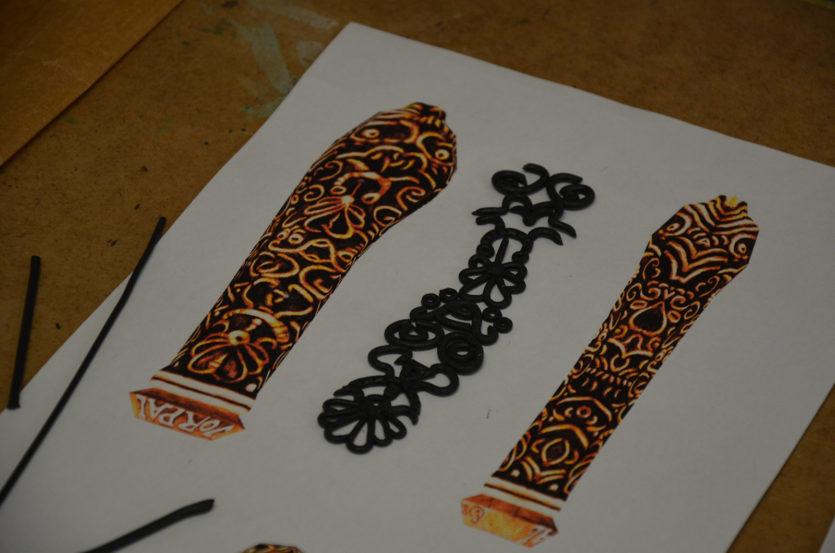 worbla black details