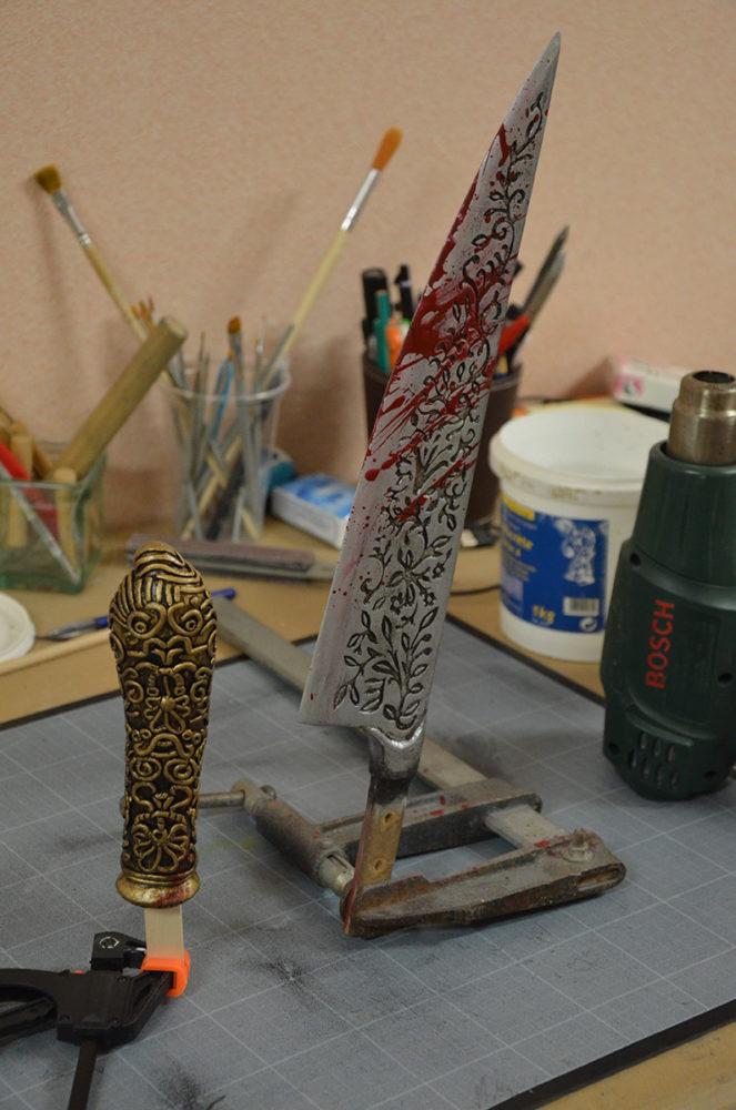 vorpal blade assembling