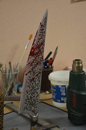 vorpal blade paint