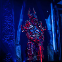 cosplay death knight blizzcon