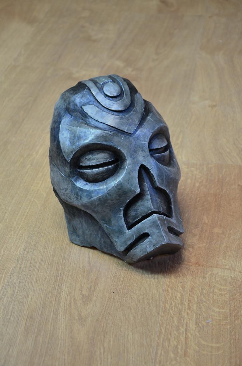 Masque prêtre dragon Vokun Skyrim