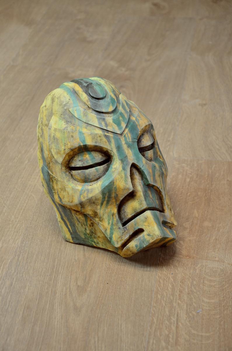 Masque prêtre dragon Otar Skyrim
