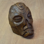 Dragon Priest mask Wooden Skyrim