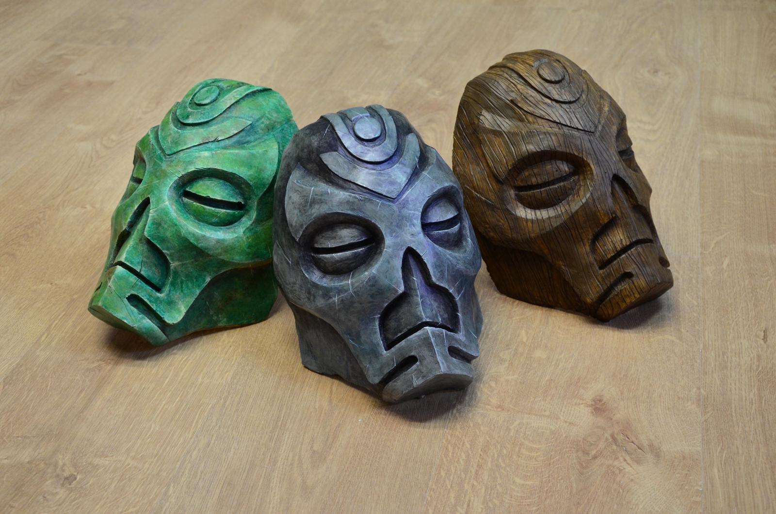 Masques prêtre dragon Skyrim