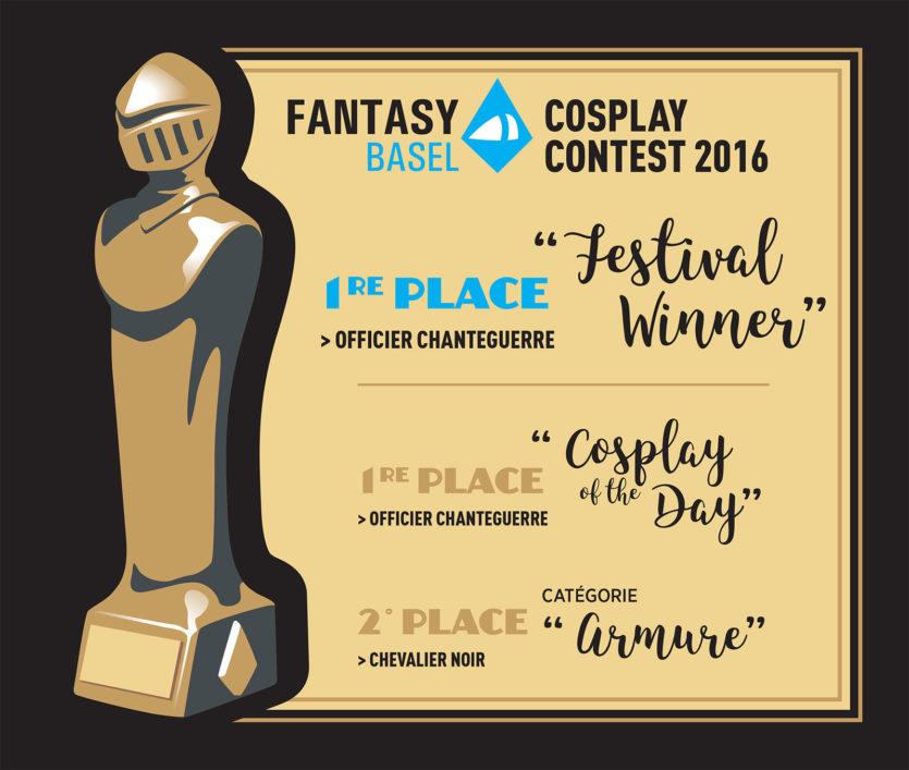 3 prix à la Fantasy Basel !