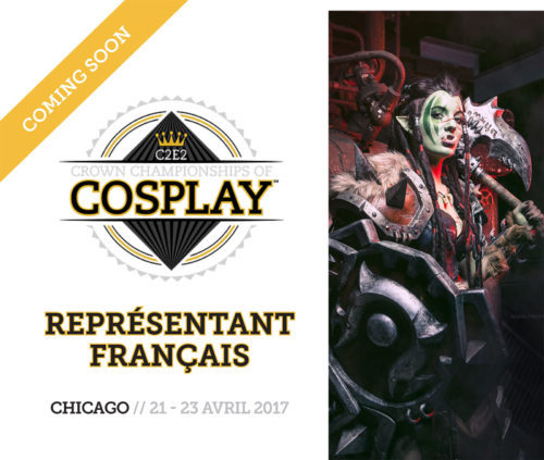 French representative at Crown Championship of Cosplay