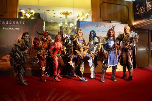 All invited cosplayers for the world premiere at Grand Rex