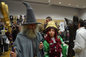 Gandalf et Nae Cosplay