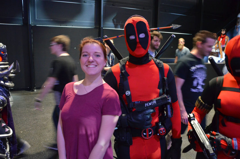 Anne et Deadpool