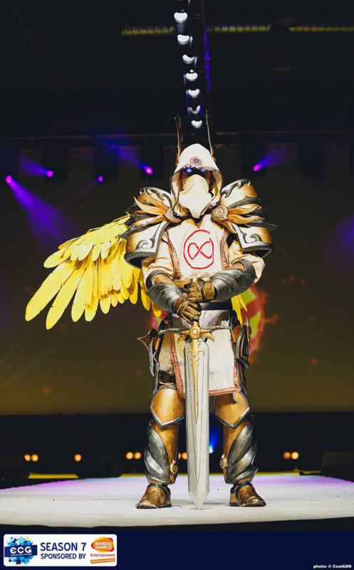 Guardian of Kings during ECG - Photo credits: CoolADN