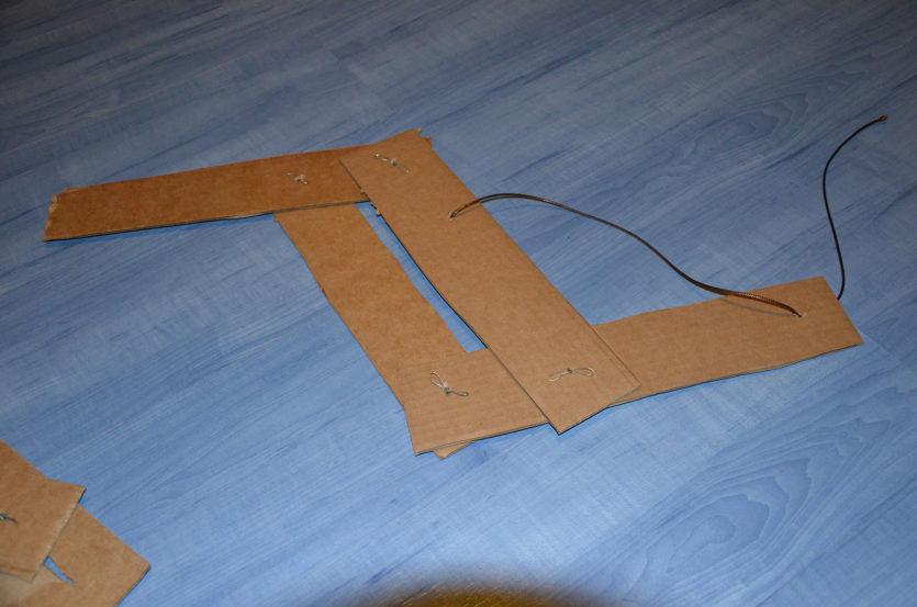 cardboard wing
