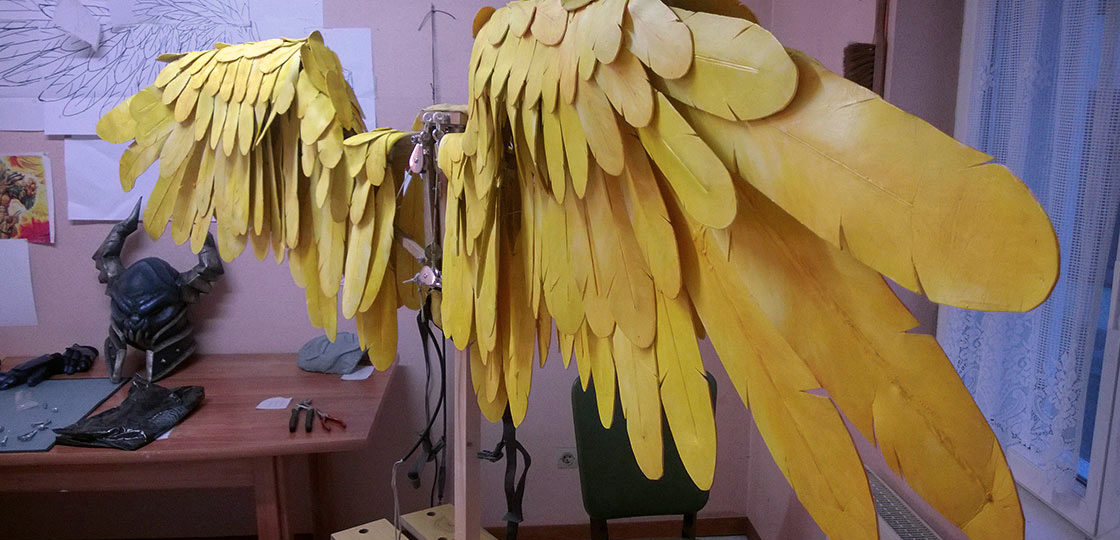 5a8c8e0bf Tutorial : Crafting articulated wings | Black Owl Studio