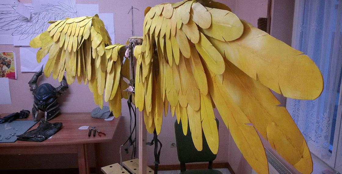 Tutoriel : Fabriquer des ailes articulées