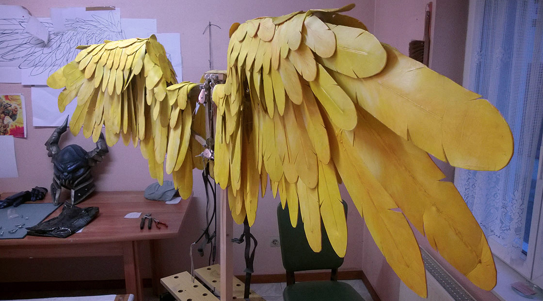 Tutorial : Crafting articulated wings