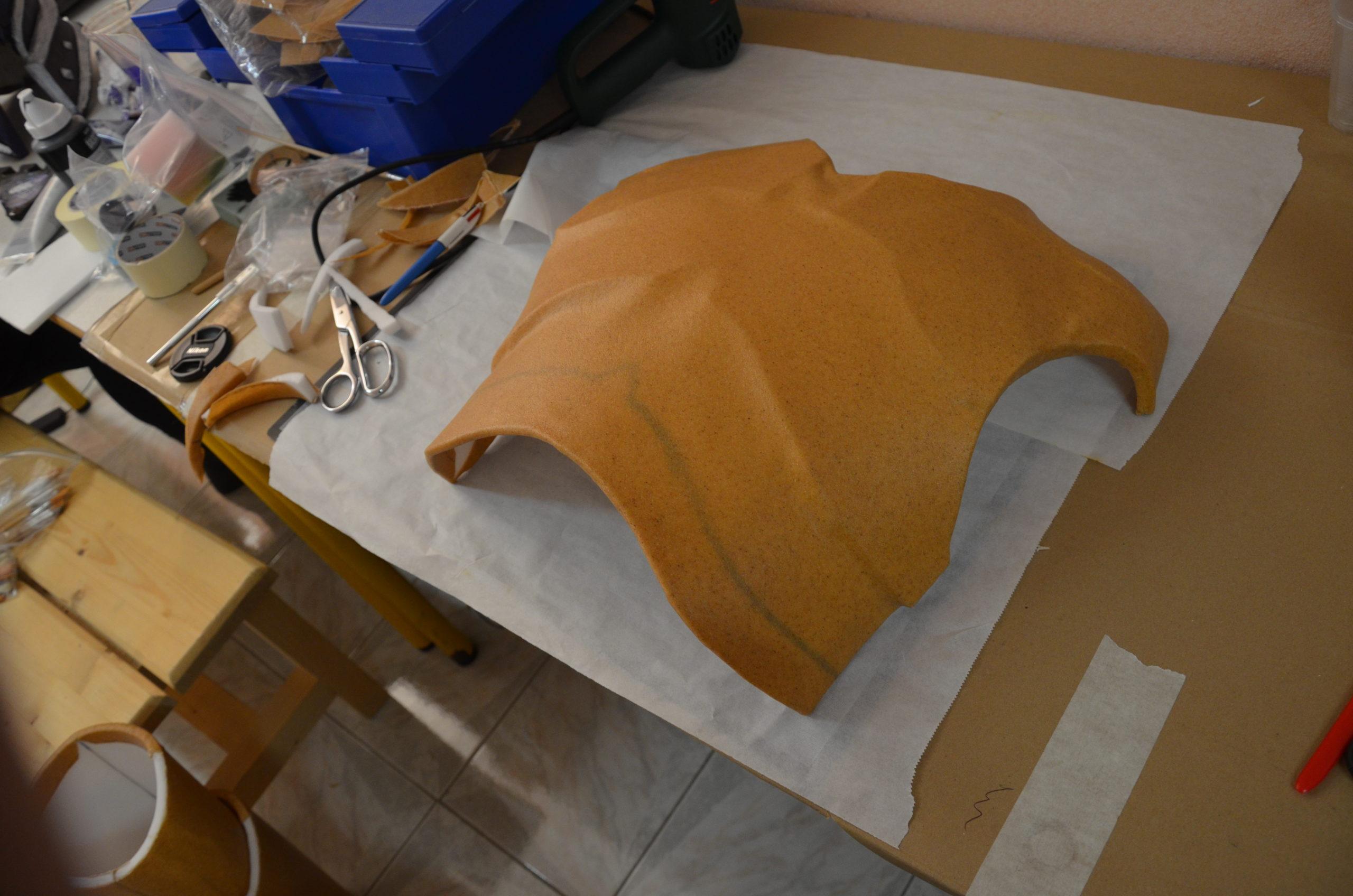 torse worbla armure