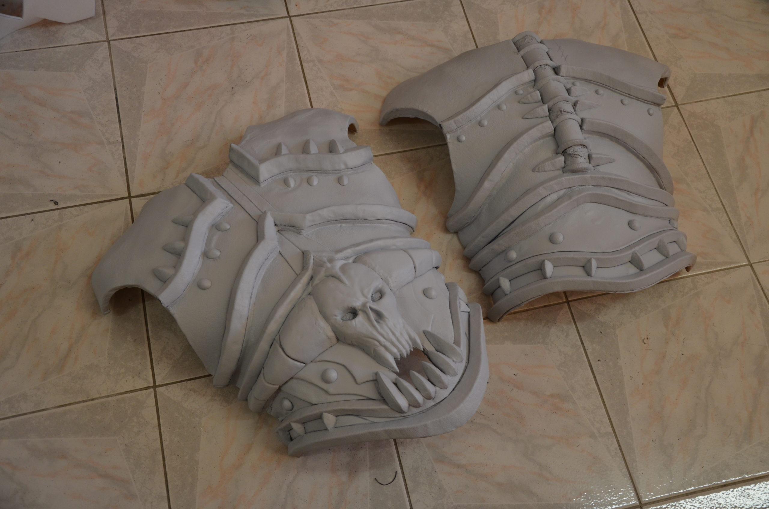 appret worbla armure