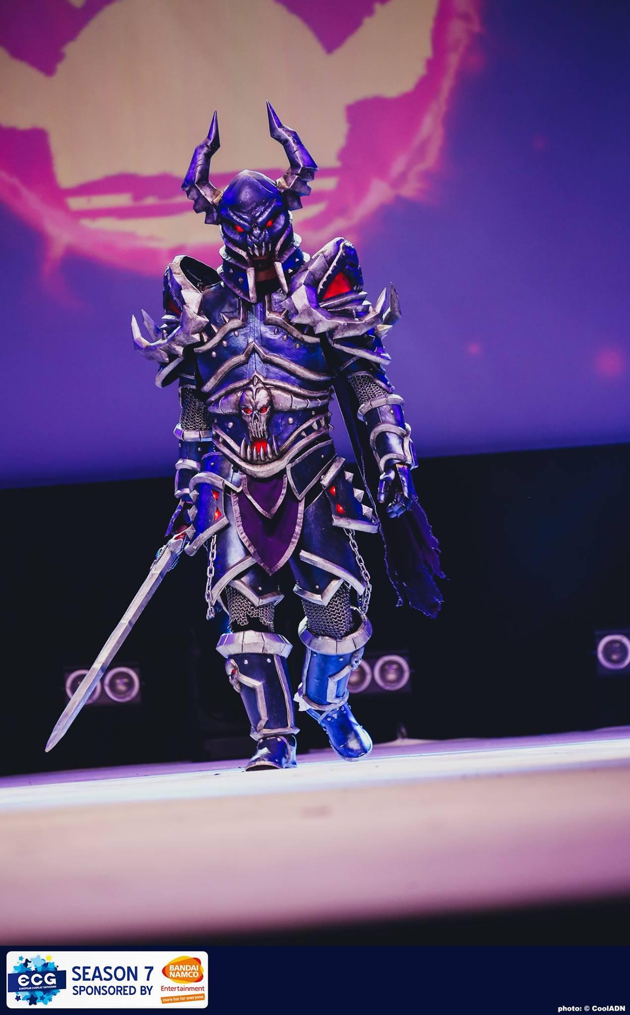 ecg cosplay armure